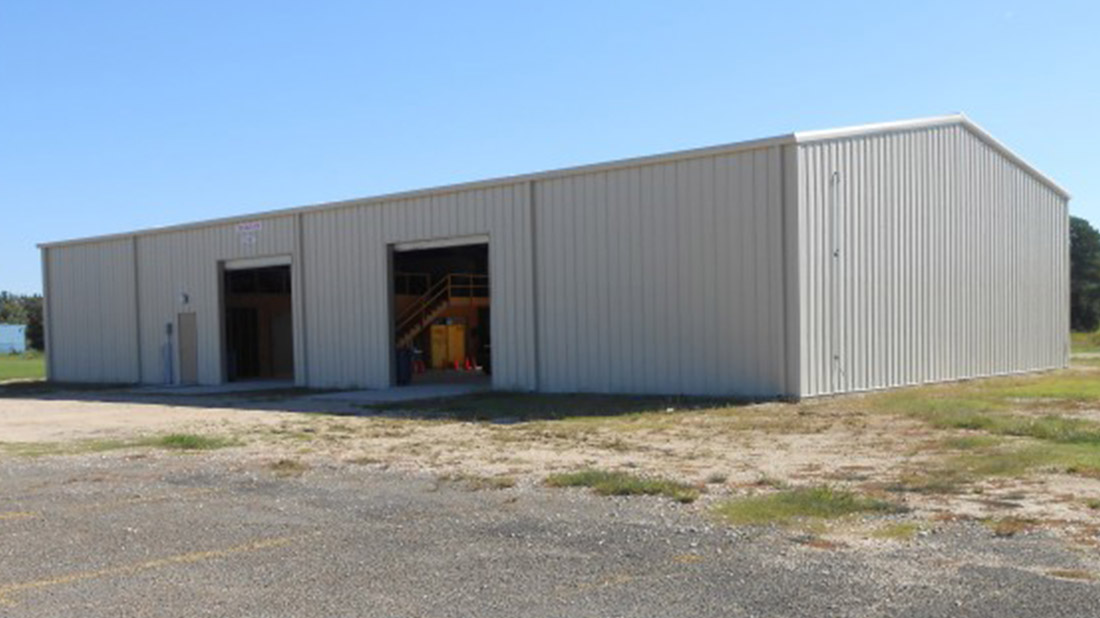 BCISD STORAGE BUILDING Bridge City, Texas